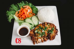 C8. Five Spice Grilled Chicken with Rice